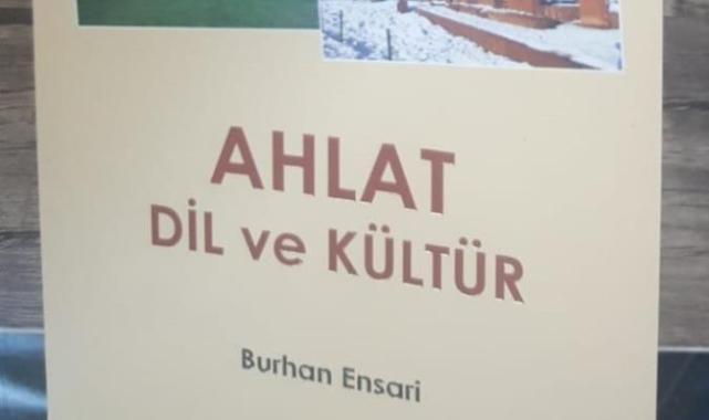 Burhan Ensari'nin kitabı çıktı