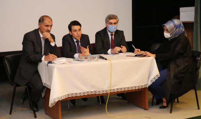 Ahlat'ta 'Köylere Hizmet Götürme Birliği Meclis Toplantısı' yapıldı