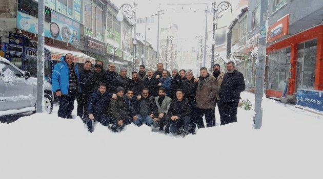 BİGİAD yönetimi gazetecilerle bir araya geldi