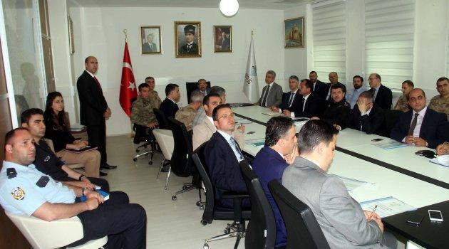Bitlis'te 'Seçim Güvenliği' toplantısı