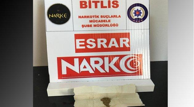 Bitlis'te uyuşturucu operasyonunda 10 kişi tutuklandı
