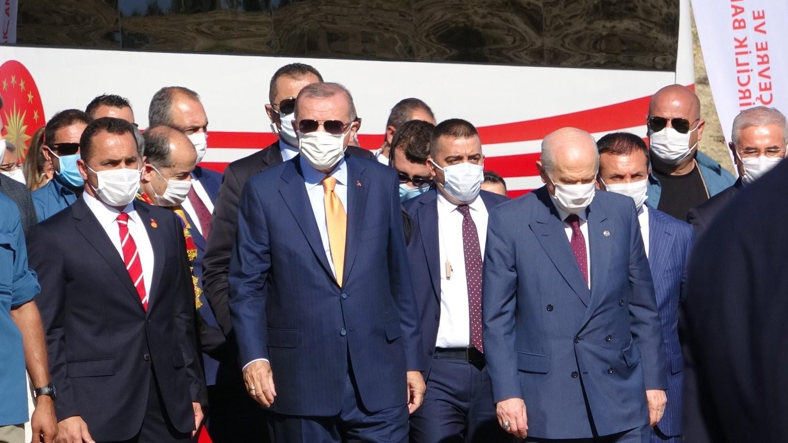 Cumhurbaşkanı Erdoğan Ahlat'taki etkinlik alanına geldi