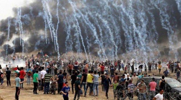 Gazze'de şehit sayısı 61'e yükseldi