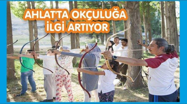 İstanbul Okçuluk Vakfı Ahlatlı Gençlere Eğitim verdi