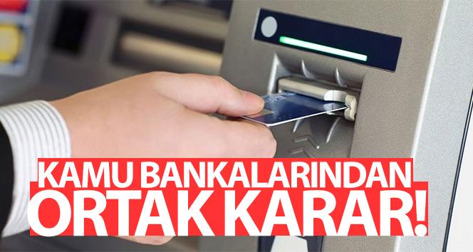 Kamu bankaları tüm ATM'leri tek bir ATM'de toplama kararı aldı.