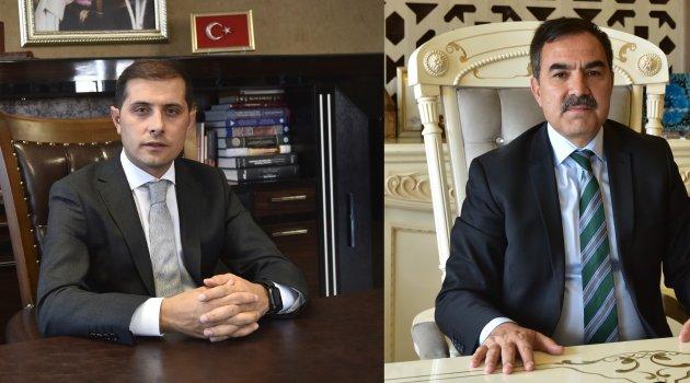 Kaymakam Erat ve Başkan Çoban'dan 'Biz Bize Yeteriz Türkiyem' kampanyasına destek