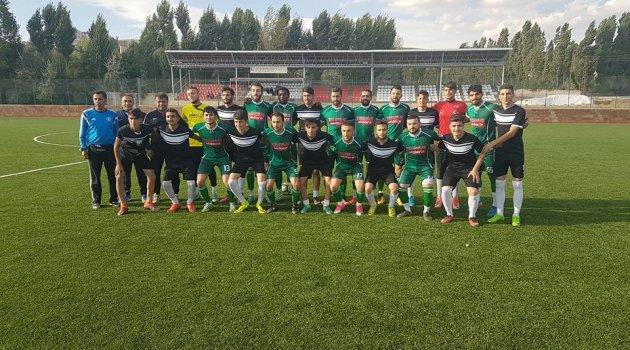 AHLAT SPOR HAZIRLIK MAÇINI 3-0 KAZANDI