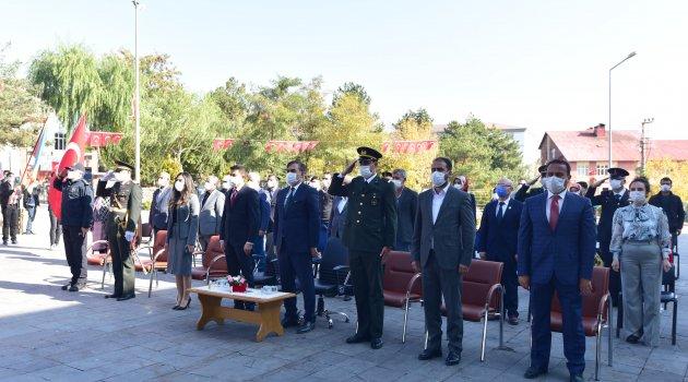 Ahlat'ta 29 Ekim Cumhuriyet Bayramı kutlandı