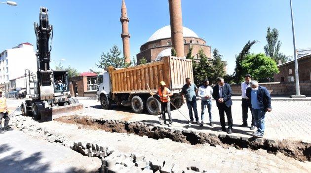 Ahlat'ta doğalgaz çalışmaları tüm hızıyla devam ediyor