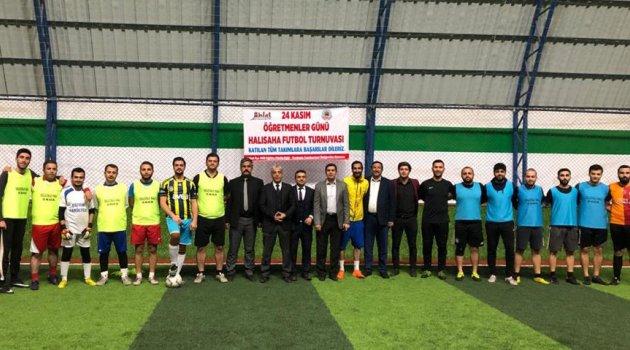 Ahlat'ta futbol turnuvası