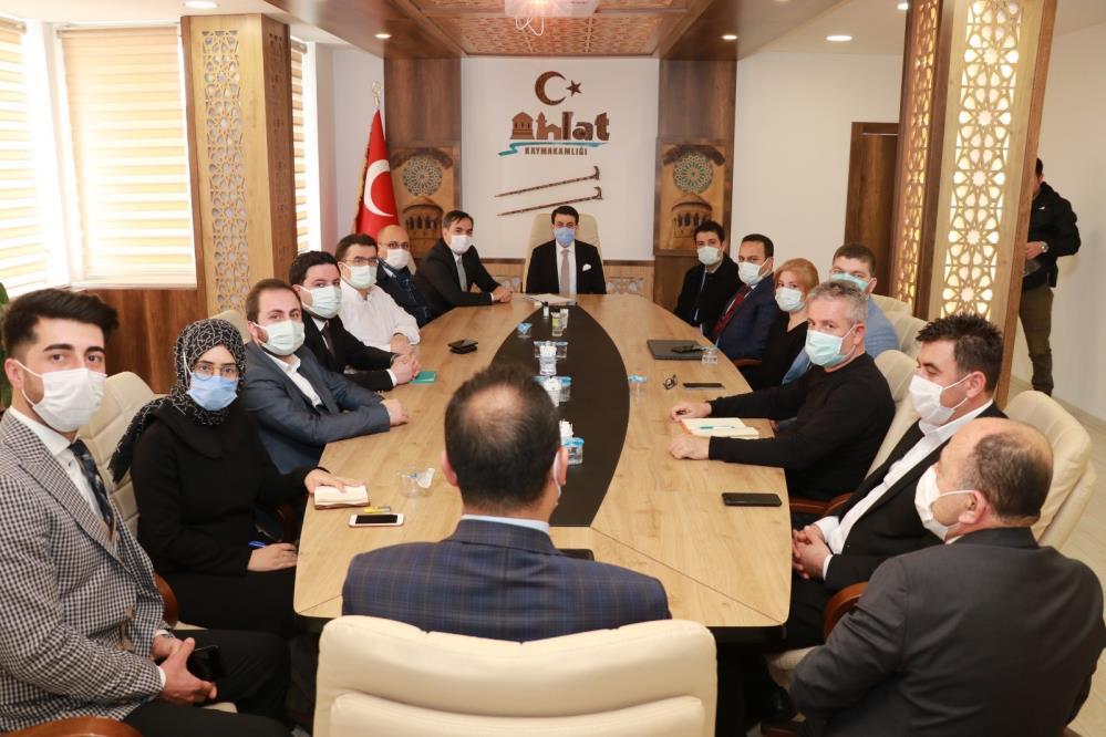 Ahlat'ta Turizmi Geliştirme Toplantısı