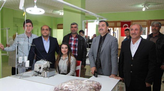 Ahlat'ta tekstil atölyesi açıldı