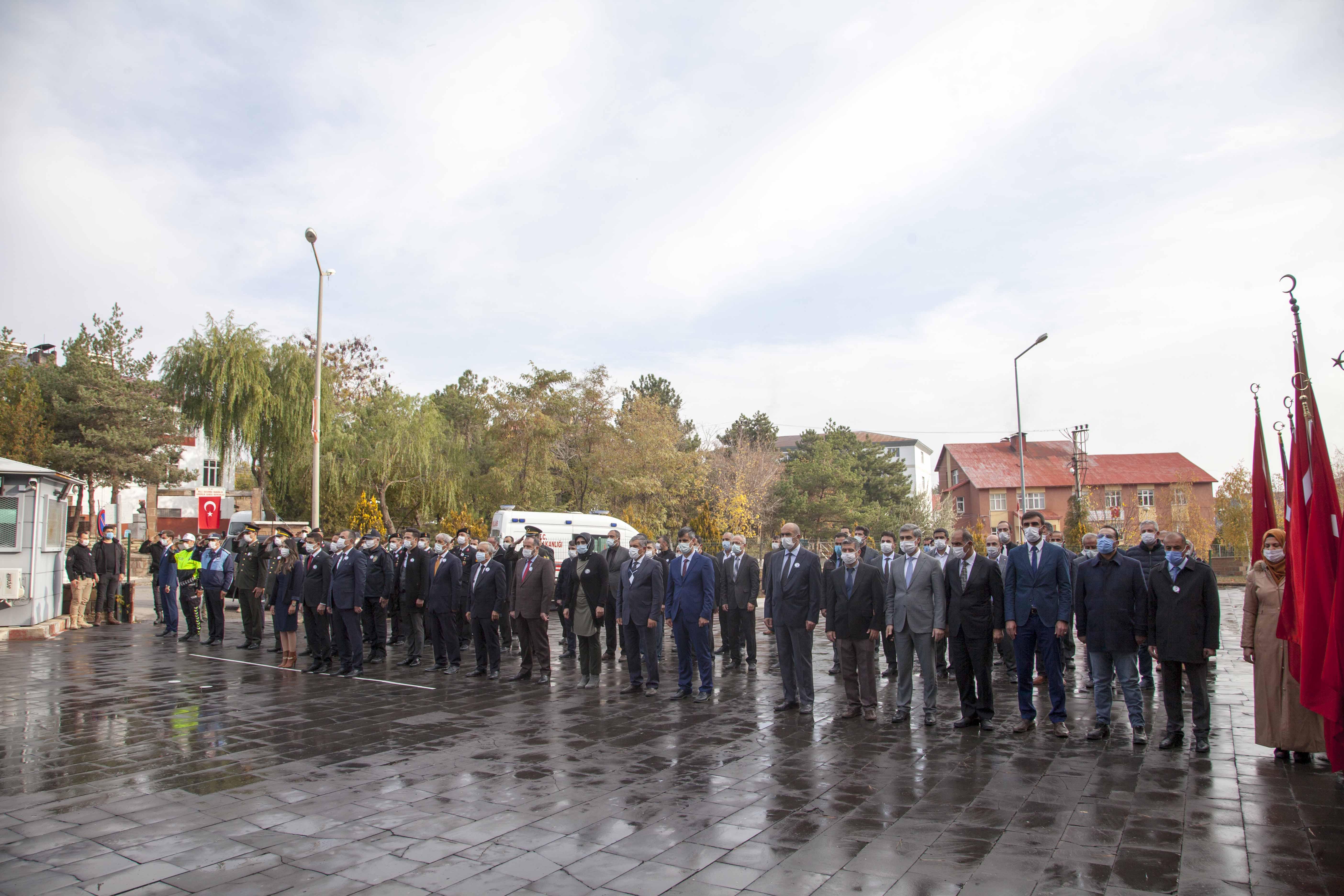 Atatürk'ün ebediyete intikalinin 82. yıldönümü