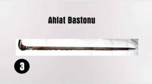 """BAKAN ÖZLÜ'DEN """"AHLAT BASTONU"""" MÜJDESİ"""