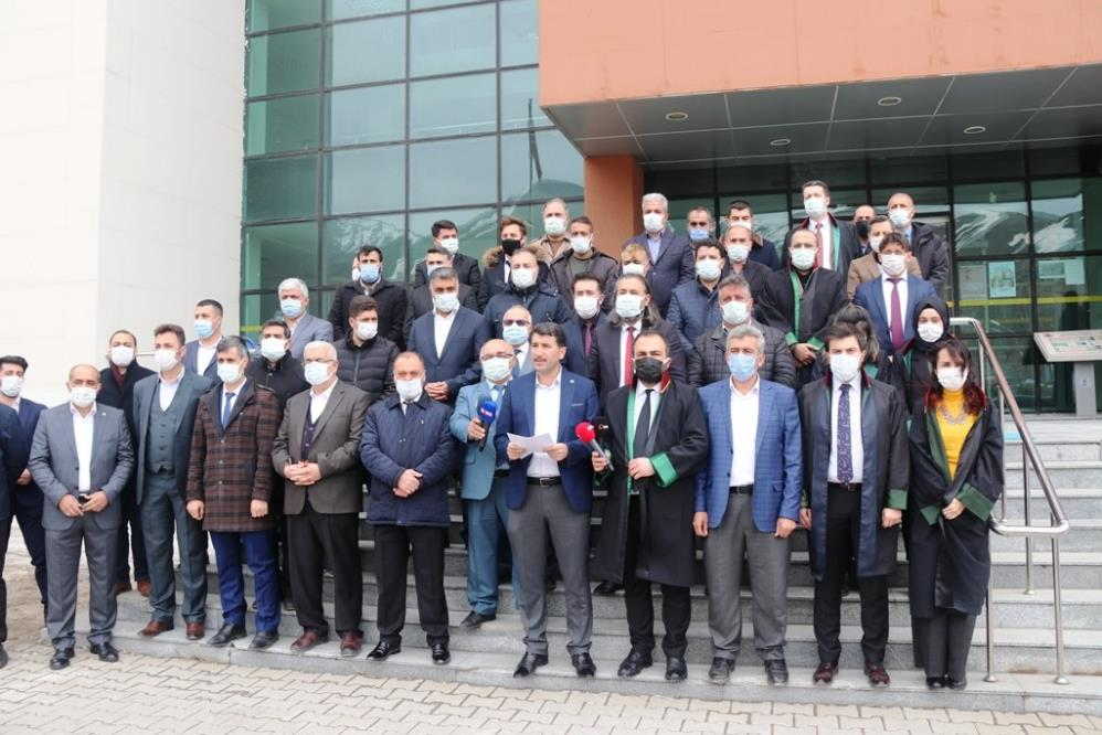 Bitlis'te 103 amiralin bildirisine tepki