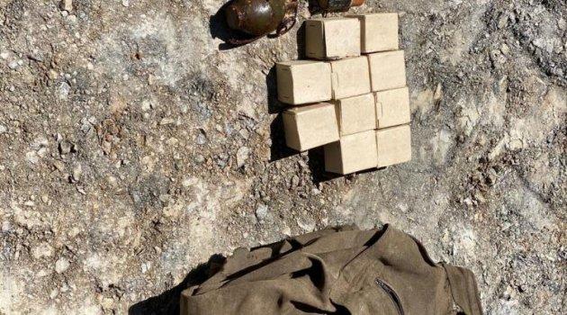 Bitlis'te 4 adet el bombası bulundu