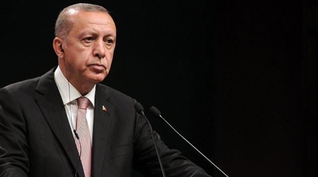 Erdoğan: 'Türk Milleti tüm imkanlarıyla Azerbaycanlı kardeşlerinin yanındadır'