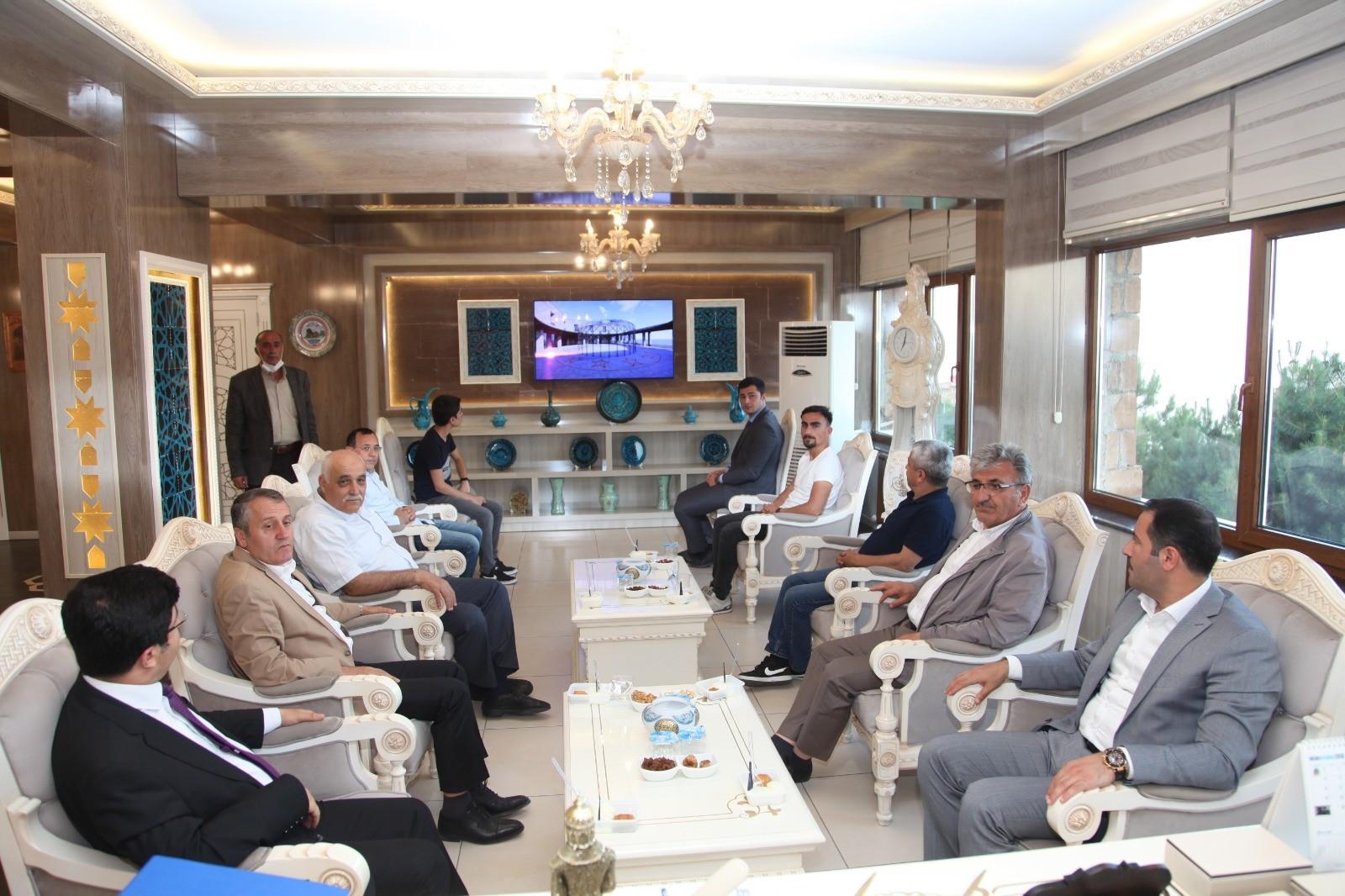 Genel Müdür Eyigün'den Başkan Çoban'a ziyaret