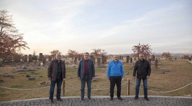 MHP Aydın İl Başkanı Haluk Alıcık  Ahlat ziyareti