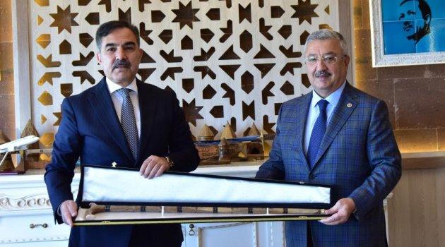 Milletvekili Nasır'dan Başkan Çoban'a ziyaret
