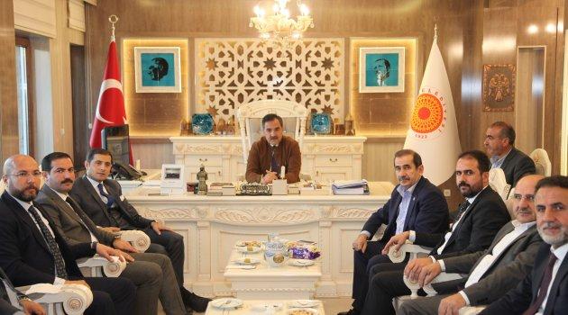 Milletvekili Taşar'dan Ahlat Belediyesi'ne ziyaret
