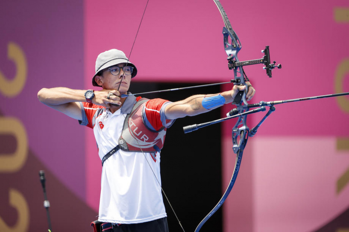 Okçulukta Türkiye tarihindeki ilk olimpiyat altın madalyası