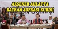 Akşener Ahlat'ta Bayram Sofrası Kurdu