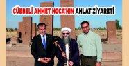 Cübbeli Ahmet Hoca'nın Ahlat ziyareti