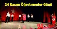 Ahlat'ta 24 Kasım Öğretmenler Günü kutlandı