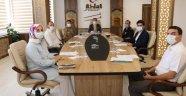 Ahlat'ta korona virüsle mücadele toplantısı