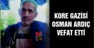 Ahlatlı Kore Gazisi Osman Ardıç Vefat Etti