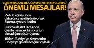 Cumhurbaşkanı Erdoğan NATO Zirvesi'ni değerlendirdi
