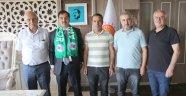 Ahlat Spordan Başkan Çoban'a teşekkür ziyareti