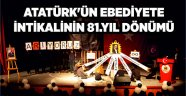 Ahlat'ta Atatürk'ü anma töreni