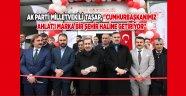 Ahlat'ta yeni sağlık merkezleri hizmete açıldı