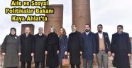 BAKAN KAYA'NIN AHLAT ZİYARETİ