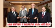 BAKAN KURTULMUŞ VE BAKAN ELVAN AHLAT'A DAVET EDİLDİ