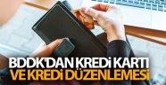 BDDK'dan kredi kartı ve kredi düzenlemesi