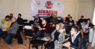 """BİGACEM'in """"Temel Gazetecilik"""" kursunun ilk etabı tamamlandı"""