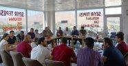 Bitlis'te gazetecilerin sorunları masaya yatırıldı