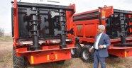 Bitlisli çiftçilere ekipman desteği