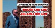 Cumhurbaşkanı Erdoğan'ın Ahlat ziyareti
