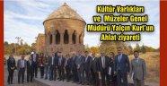 Kültür Varlıkları ve Müzeler Genel Müdürü Yalçın Kurt'un Ahlat ziyareti