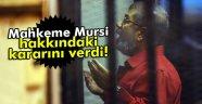 Mursi'nin idam cezası iptal edildi