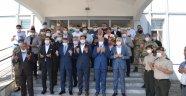 Vali Özkan Tunceli'ye dualarla uğurlandı