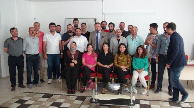 Tatvan'daki akademisyenlere Avrupa Birliği Projeleri eğitimi verdi