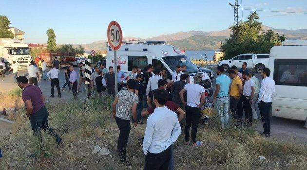 Tatvan'da kaza: 1 ölü, 1 yaralı