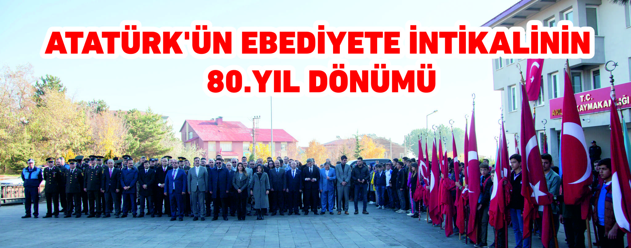 Ahlat'ta 10 Kasım Atatürk'ü Anma Günü Programı