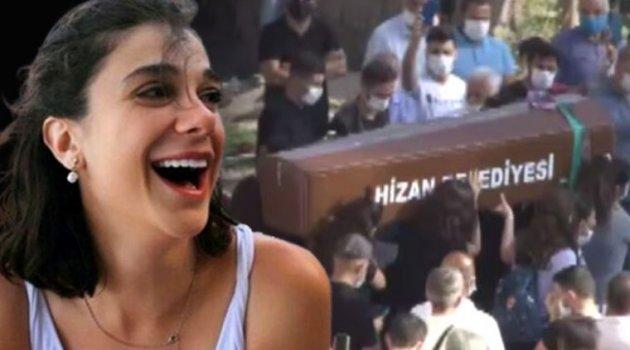Vahşice öldürülen üniversite öğrencisi Pınar Gültekin son yolculuğuna uğurlandı